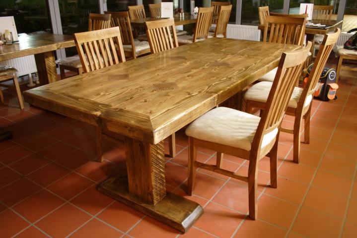 Massivholztisch selber bauen massivholztisch selber bauen for Design massivholztisch